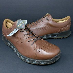 ECCO Cool 2.0 Leather Gore-Tex Mink Brown Leather